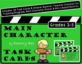 Main Character Task Cards: Fun Boost for Reading Comprehension