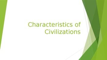 Main Characteristics of Civilization