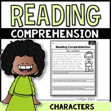Main Characters - Reading Passages