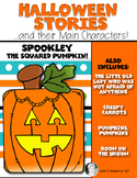 Halloween Stories and Main Characters for Kindergarten and First Grade Reading