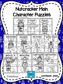 Main Characters (from The Nutcracker) Puzzles