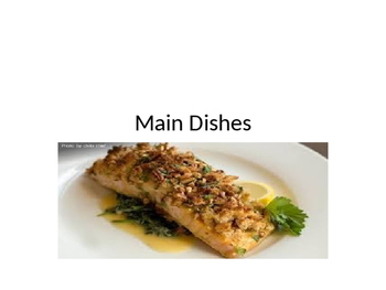 Main Dish Powerpoint