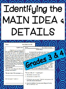 Reading Comprehension: Find the Main Idea and Details