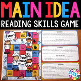 Main Idea and Details Task Cards {Reading Comprehension Pa