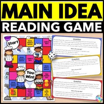 Main Idea and Details Activity: Main Idea Reading Game