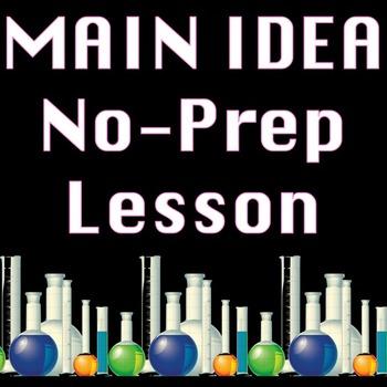 Main Idea Informational Reading Passage Practice Worksheet