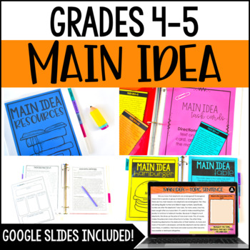 Main Idea Resources (with Passages)