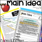 Main Idea and Supporting Details Passages ⭐ Distance Learning Packets
