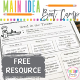 Identifying Topic and Main Idea