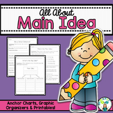 Main Idea and Supporting Details- Anchor Charts, Graphic O