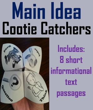 Main Idea and Supporting Details 3rd, 4th, 5th, 6th Grade (Central Message)