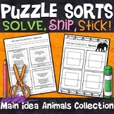 Main Idea and Details Activities | Puzzle Sorts