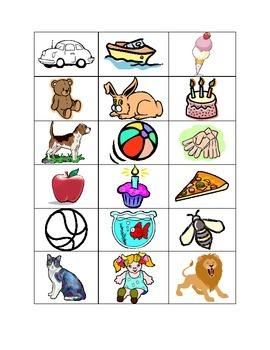 Main Idea 4 Square Picture Sort