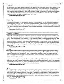 Main Idea--7 passages
