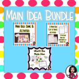 Main Idea Activities Bundle!