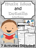 Main Idea Activities ~ Printables, Worksheets, and Passages