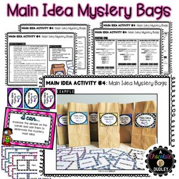 Main Idea Activities {The Puzzling Main Idea}