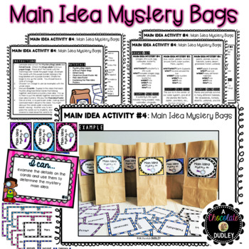 Main Idea Activities {The Puzzling Main Idea}