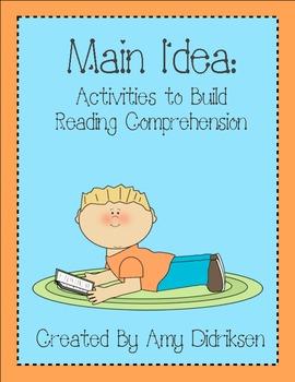 Main Idea: Activities to Build Reading Comprehension