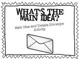 Main Idea Activity