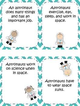 Main Idea Astronaut Match Up Center