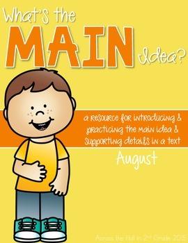 Main Idea August