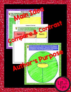 Main Idea/Author's Purpose/Compare Contrast Using Informational Texts