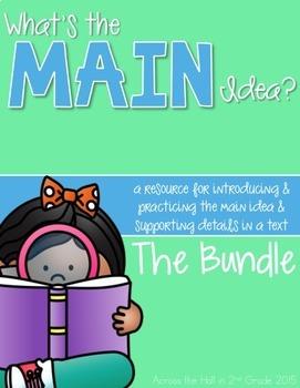 Main Idea BUNDLED