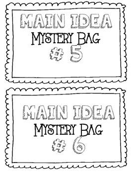 Main Idea and Inference Activity