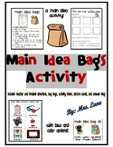 Main Idea Bags Activity (Includes 23 Different Bag Themes!)