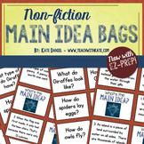Non-Fiction Main Idea Lesson or Center