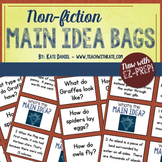 Non-Fiction Main Idea Bags