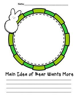 Main Idea {Bear Wants More}