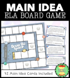 Main Idea Board Game: Lost in Space
