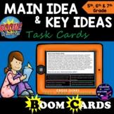 Main Idea Boom Cards