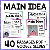 Main Idea & Supporting Details Passages Digital Morning Wo