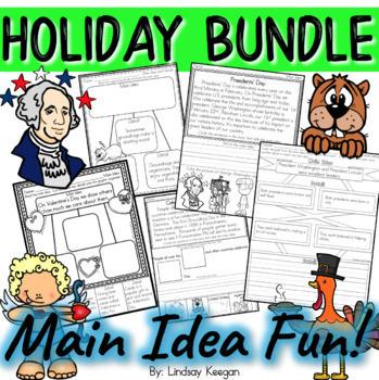 Main Idea Bundle - Holiday Edition Growing Bundle