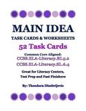 Main Idea Bundle (Includes 52 Task Cards)