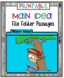 Main Idea PRINTABLE Card Set