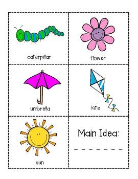 Main Idea Cards