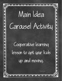 Main Idea of Fiction Text Carousel Activity