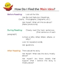 Main Idea Guide