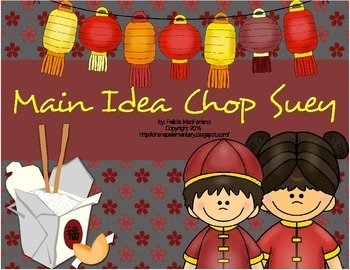 Main Idea Chop Suey - Choose and Cite