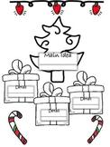 Main Idea Christmas Tree