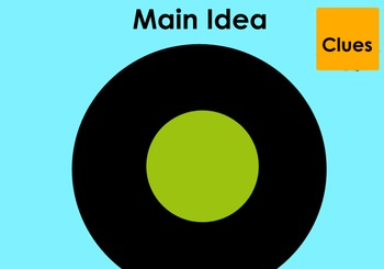 Main Idea Circle Map Flipchart