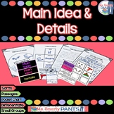 Main Topic, Main Idea, and Details Scaffolded and Differentiated