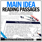 Main Idea Comprehension Passages: Animals & Habitats