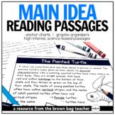 Main Idea Comprehension Passages: Animals & Habitats with Digital Version