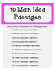 Main Idea & Comprehension Unit (Nonfiction)