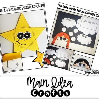 Main Idea Craft Activities